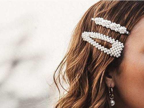 Hair clips, ganchos para el cabello, broches de moda