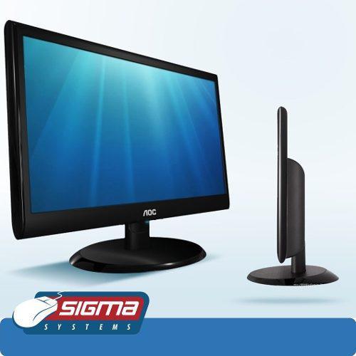 Monitor aoc 18.5'' e970sw led puerto vga nuevo