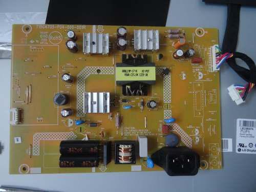 Repuestos tarjeta logica fuente monitor lcd asus vs238