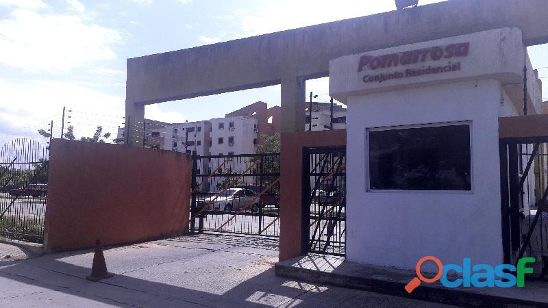 Apartamento de 65m2 en el Conjunto Residencial Pomarrosa Los Guayos