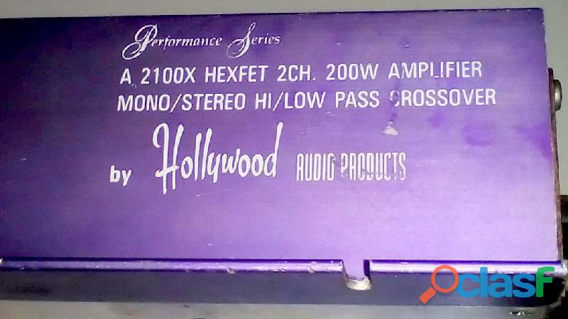 Planta Power Audio Gods 12v 400 vatios 4