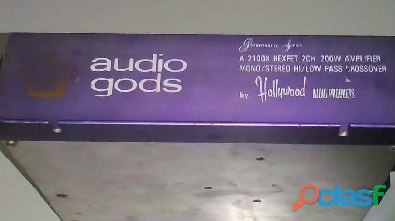 Planta Power Audio Gods 12v 400 vatios 5