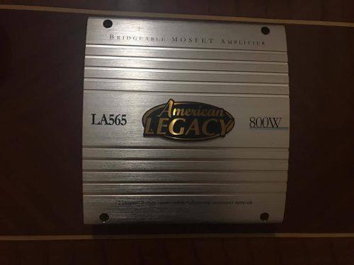 Planta amplificador american legacy la565 800watt 2 canales