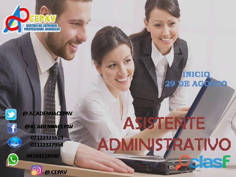 Curso asistente administrativo