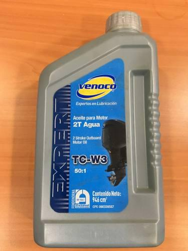 Aceite venoco para motor 2 tiempos fuera de borda tc-w3