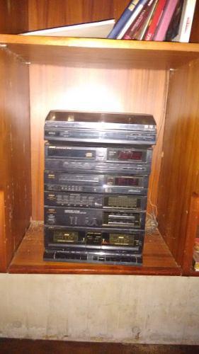 Equipo de sonido aiwa