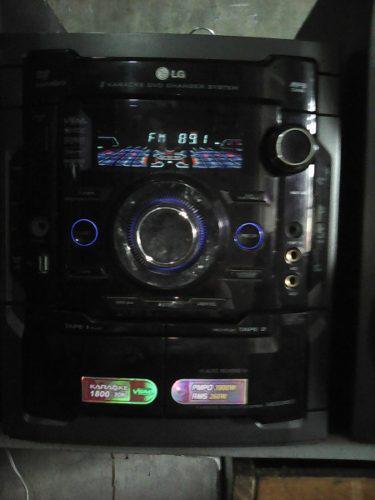 Equipo de sonido lg mod mdd-263-a5u minicomponente