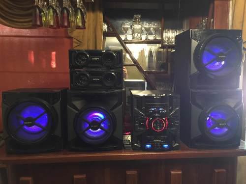 Equipo de sonido sony genezi gtr 777