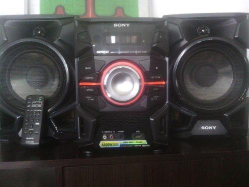 Equipo sonido sony mod genezi mhcex88