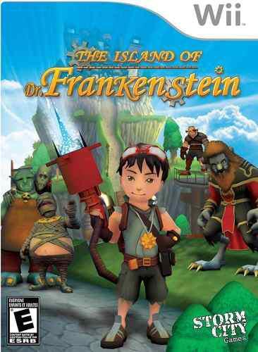 Juego nintendo wii original: la isla del dr. frankenstein