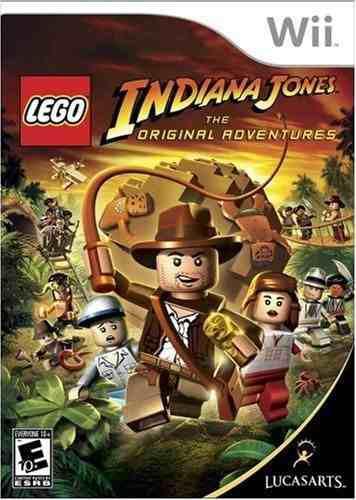 Juegos nintendo wii lego indiana jones 1 y 2** originales **