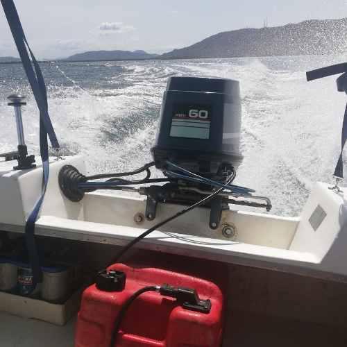 Lancha 14 pies motor 60 hp yamaha