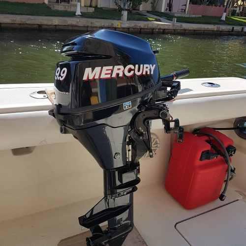 Motor fuera de borda 9.9 hp 4 tiempos mercury
