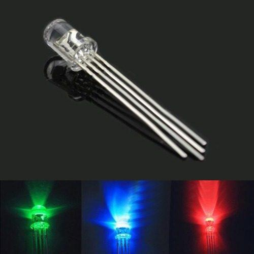 Diodo pcs ldtr-yj -pin led color rgb completo catod 04rt