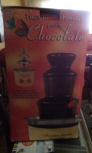 Fuente De Chocolate Marca Fondue