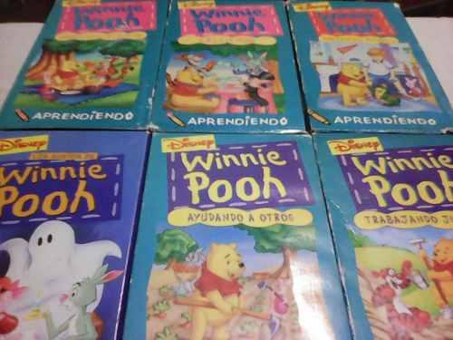 Películas infantiles originales de coleccio vhs winnie pooh