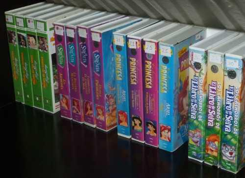Películas infantiles originales de coleccion vhs