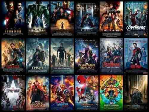 Películas universo marvel gran combo 20 películas full hd