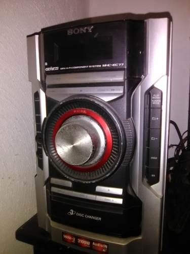 Sony genezi mhc-ec77