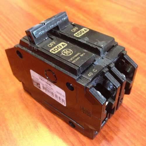 Breakers thqc superficial general electric 2x100