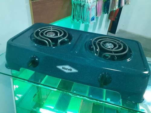 Cocina electrica original haceb 2 hornillas 50tienda fisica