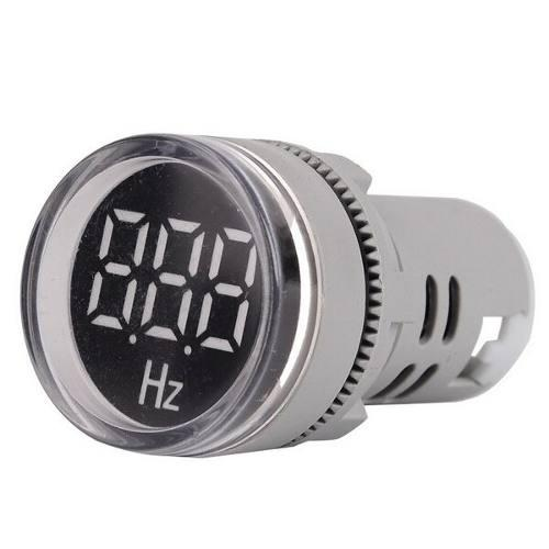 Medidor de frecuencia 20-75 hertz corriente alterna 110-380v