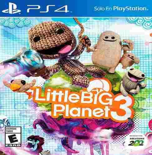Ps4 juego little big planet 3 nuevo y sellado somos tienda