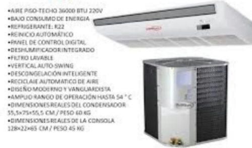 A/a piso techo 36000btu premium