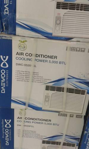 Aire acondicionado daewoo de 5000 btu incluye factura