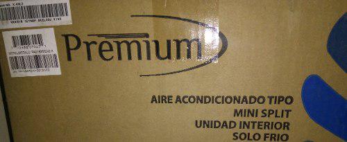 Aire acondicionado premium 24000 btu xtreme plateado m split