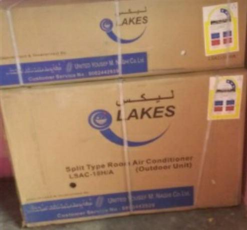 Aire acondicionado tipo split. marca lakes. 18000btu. nuevo