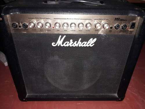 Amplificador de guitarra marshall mg30dfx de 80 watts