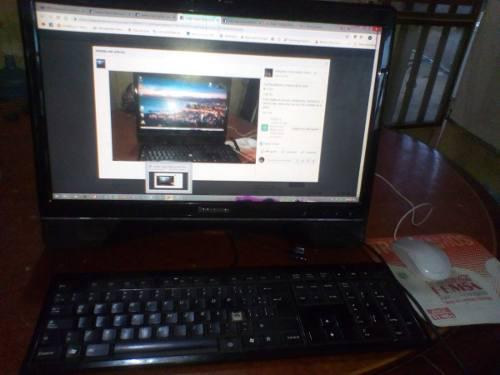 Computadora lenovo all in one + economica + barata