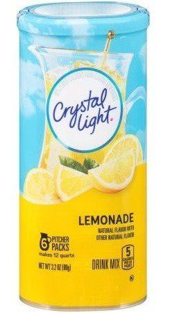Crystal light drink mix