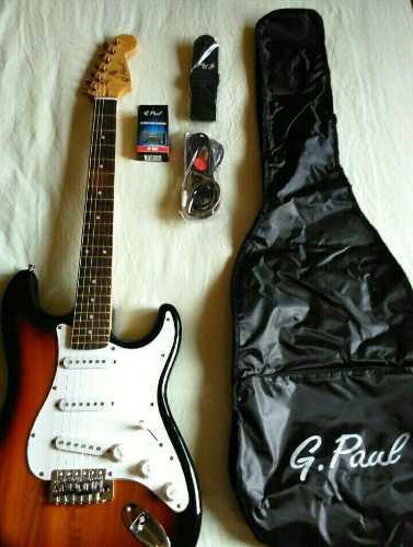 Guitarra eléctrica amplificador y accesorios nueva!