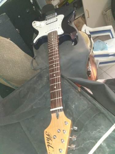 Guitarra electrica phil pro como nueva