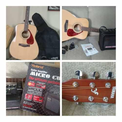 Guitarra electroacústica yamaha fx 325