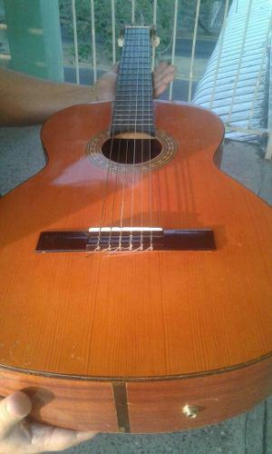 Guitarra tatay española con estuche duro original
