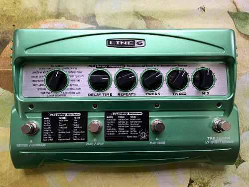 Line 6 dl4 delay modeler effect pedal vendo o cambio