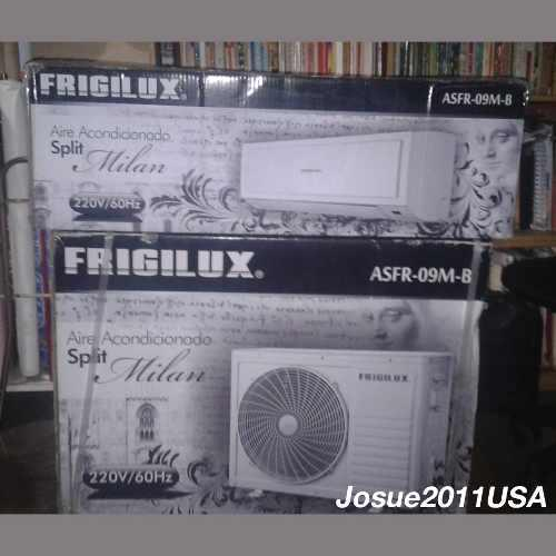 Remato aire acondicionado split frigilux 9000 btu 220v nuevo