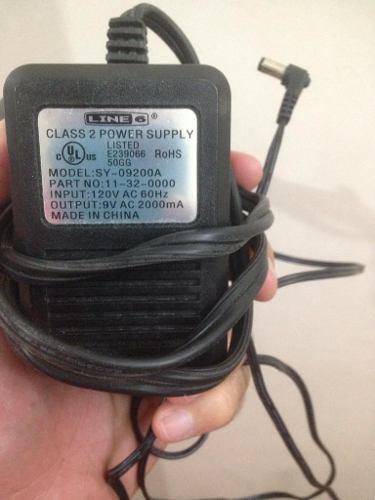 Adaptador original line6 de 9v 2000ma power supply