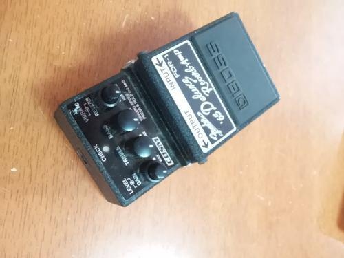 Boss fdr-1 fender deluxe reverb pedal