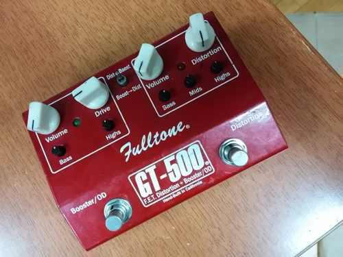 Fulltone gt-500 fet distortion + booster and overdrive
