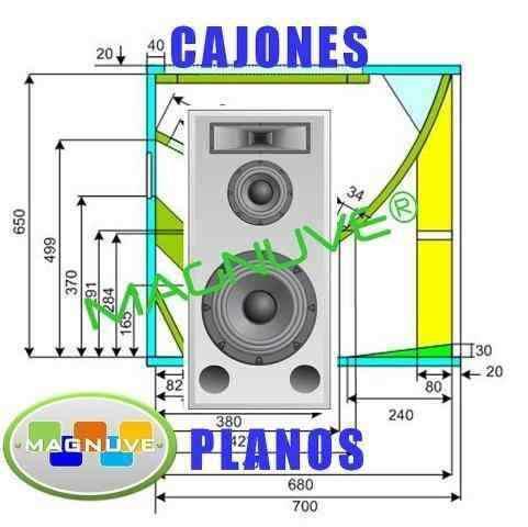 cajones turbo sound segunda mano  Cedeño-Bolivar (Bolivar)