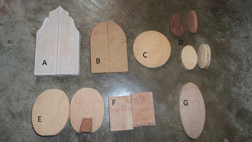 Maderas y retablos en madera / mdf