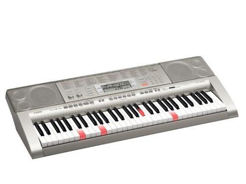 Teclado casio lk-270 con base