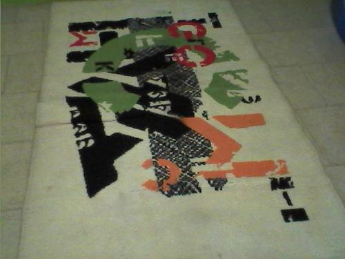 Alfombra tapete perfecta decorativa remate