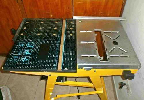 Banco mesa de trabajo para carpintería