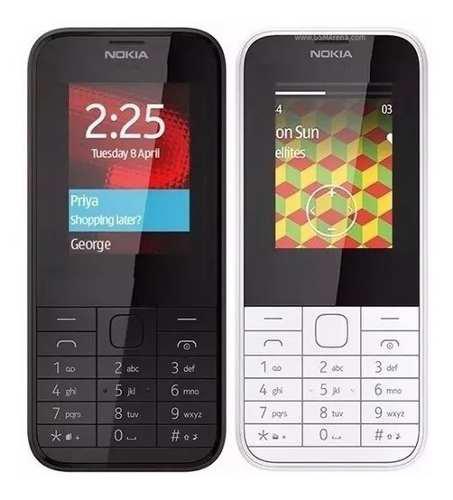 Doble sim telefono celular nokia 225 camara flash *18*