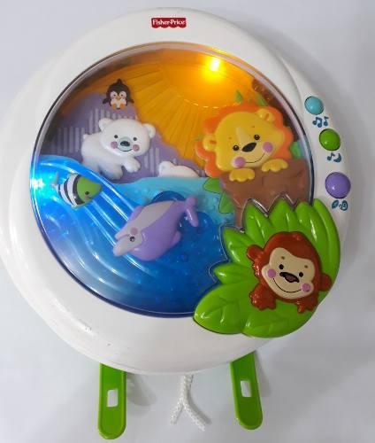 Lampara de cuna iluminación juguete para bebe fisher price